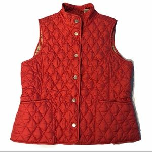 L.L.Bean Quilted Puffy Vest EUC